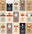 Food beverages vector