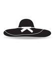 Woman hat vector