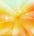 Smooth fresh flower shiny background vector