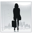 City people icon vector