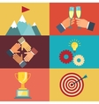 Business leadership vector