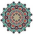 Circle ornament ornamental round lace vector