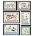 Postage stamps vector