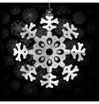 Snowflakes background with space for text  eps8 vector