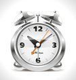 Old alarm clock vector