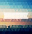 Vintage summer poster sun rope frame file layered vector
