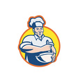 Cook chef baker vector