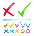 Check marks vector