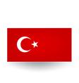 Turkish flag vector