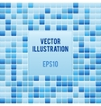 Blue mosaic small tile texture background of spa vector
