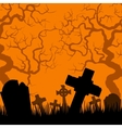 Old cemetery vector