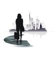 City people icon vector