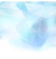 Abstract crystal structure background template vector