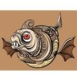 Fantastic fish vector