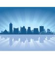 Memphis tennessee skyline vector