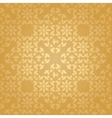 Seamless floral gold background vector