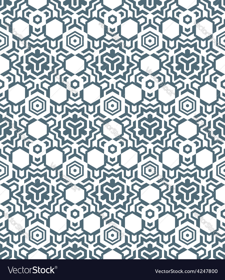 Abstract geometric monochrome seamless pattern vector   Price: 1 Credit (USD $1)