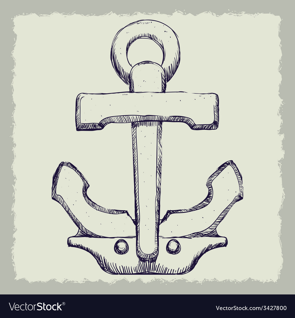 Anchor design vector | Price: 1 Credit (USD $1)