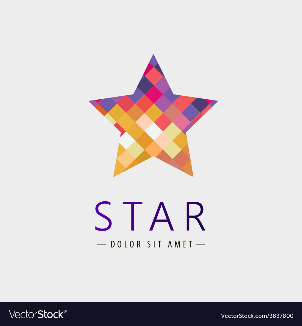 Star logo icon isolated identity vector   Price: 1 Credit (USD $1)