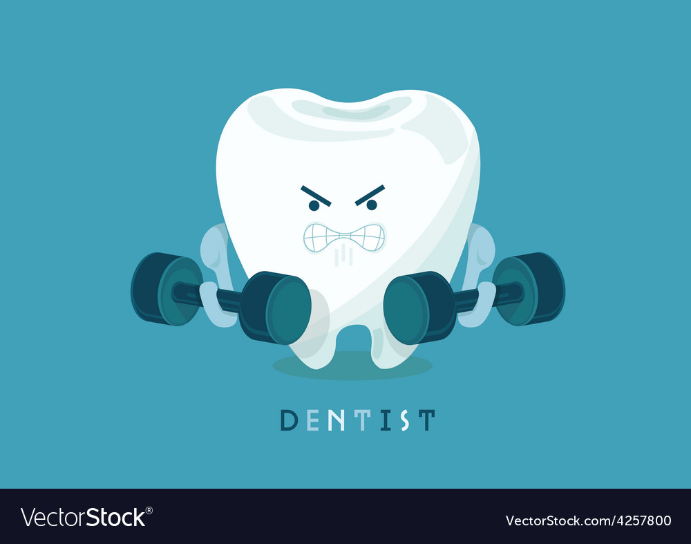 Strong tooth vector | Price: 3 Credit (USD $3)
