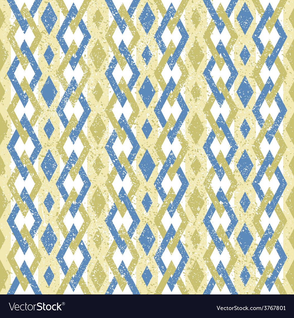 Geometric pattern with color rhombus vector | Price: 1 Credit (USD $1)