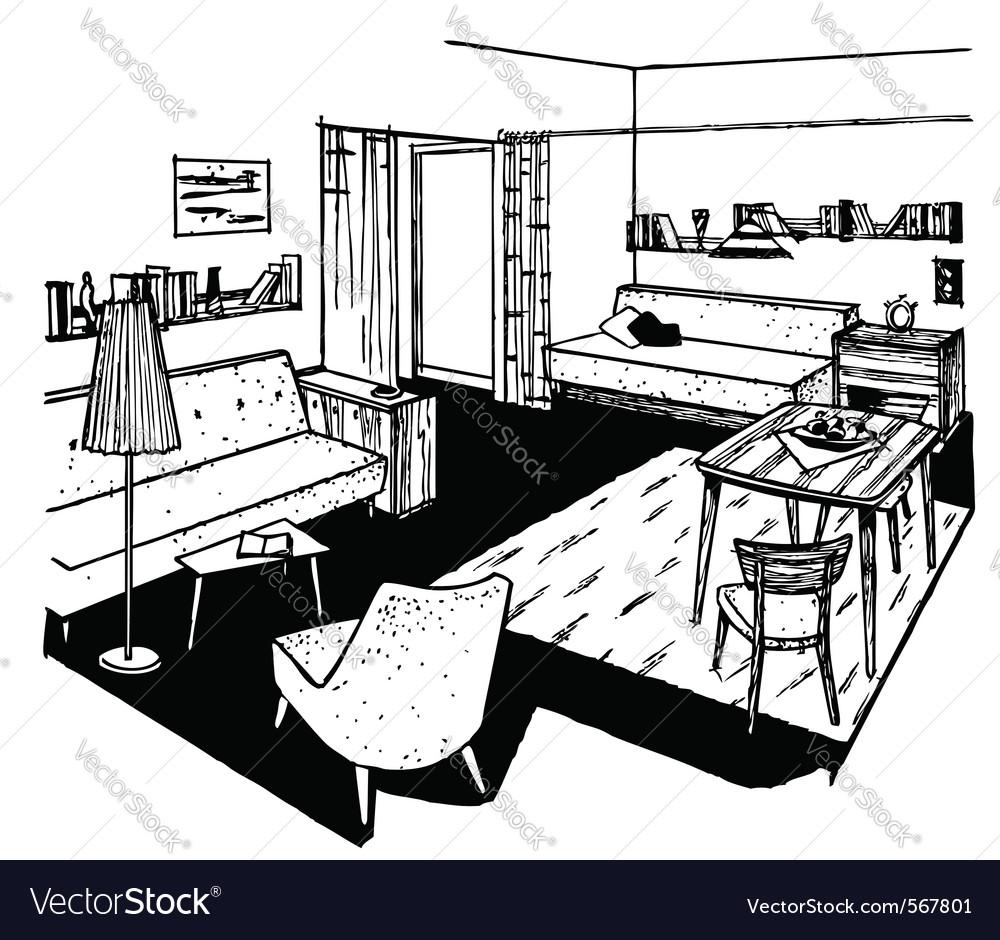 Home interior vector   Price: 1 Credit (USD $1)