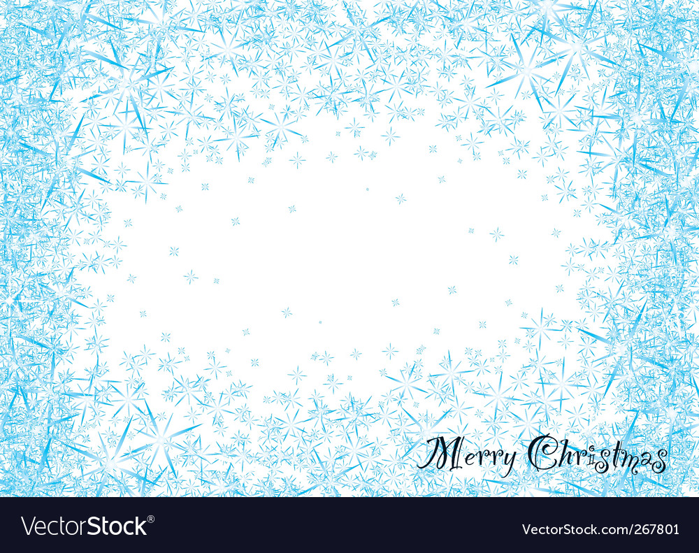 Snowflake dust vector | Price: 1 Credit (USD $1)
