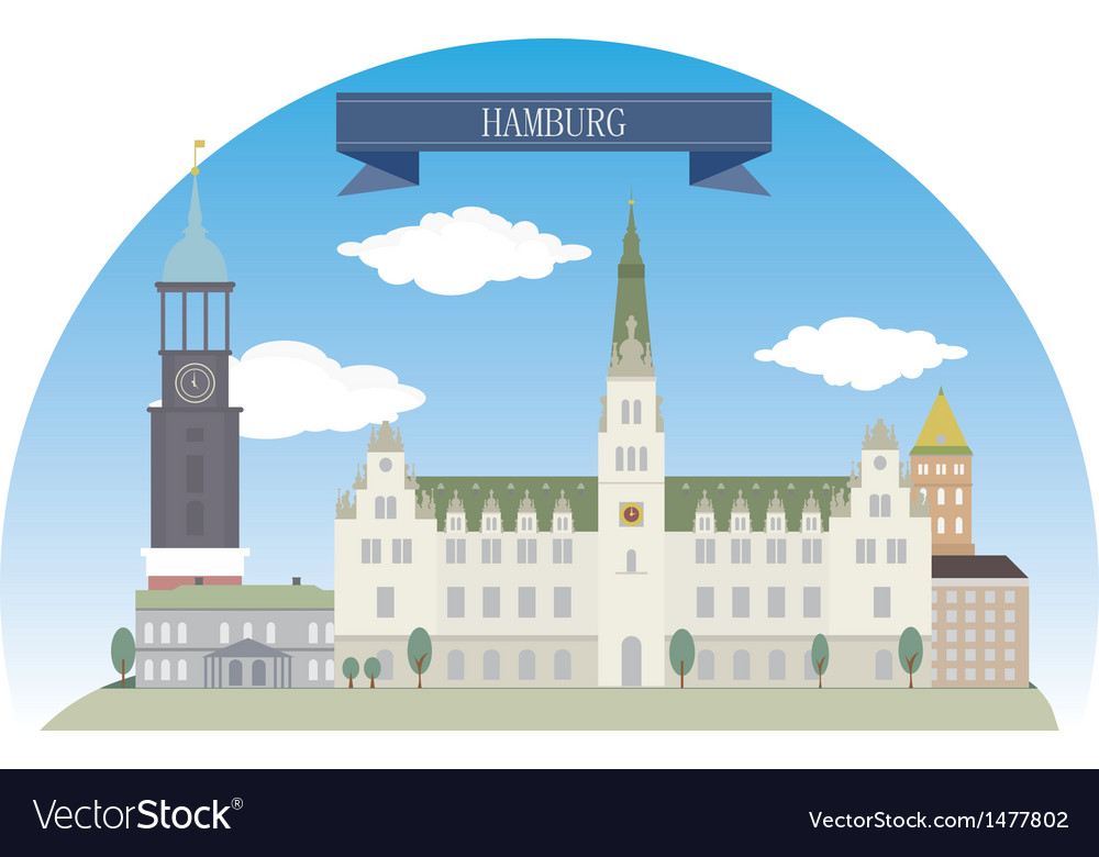 Hamburg vector | Price: 1 Credit (USD $1)