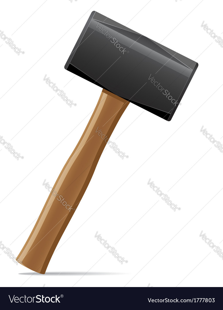 Tool hammer 07 vector | Price: 1 Credit (USD $1)