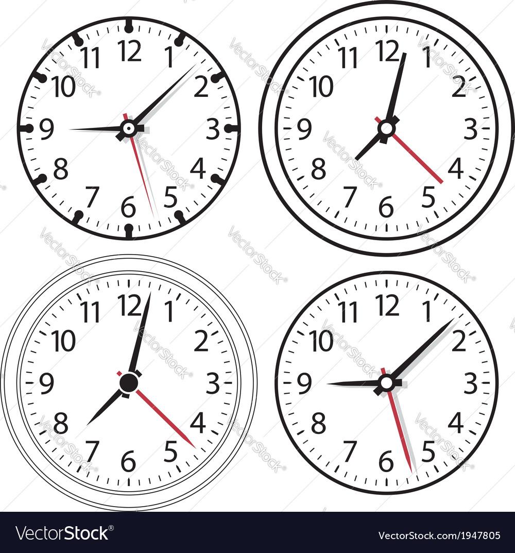 A clock vector   Price: 1 Credit (USD $1)