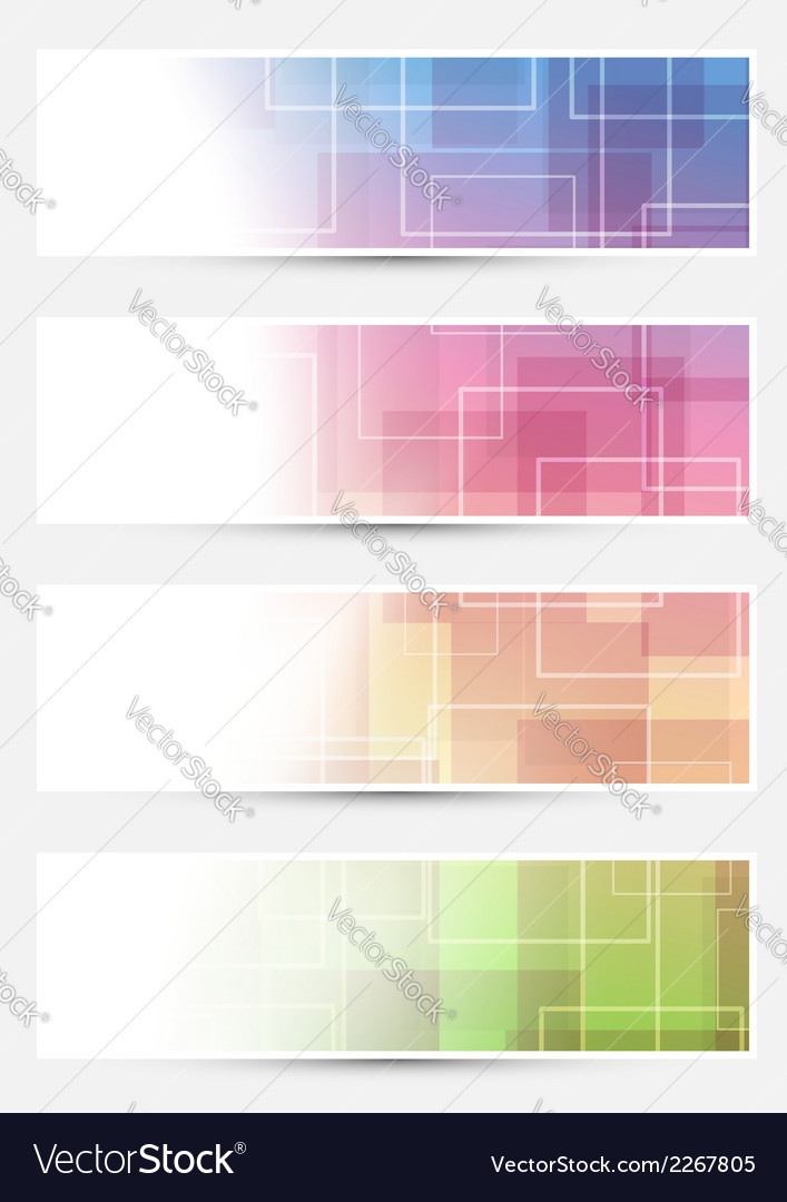 Bright cards collection - squares lines vector | Price: 1 Credit (USD $1)