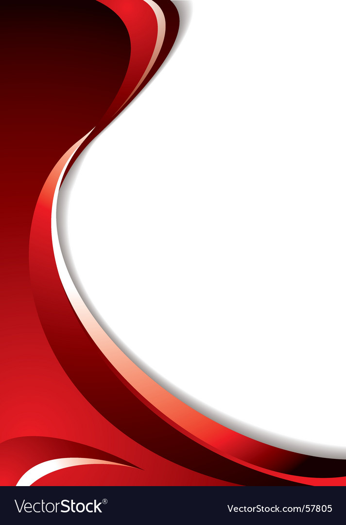 Red curve vector | Price: 1 Credit (USD $1)