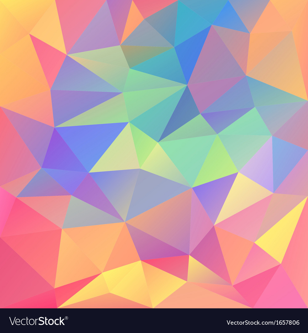Abstract geometrical polygonal background vector | Price: 1 Credit (USD $1)