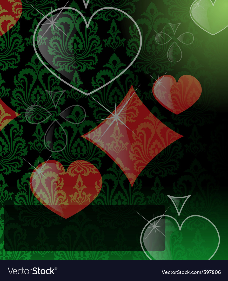 abstract play card background vector | Price: 1 Credit (USD $1)