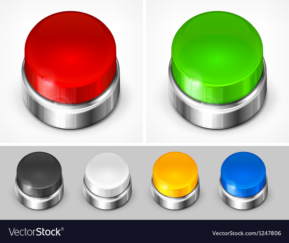 Color buttons vector | Price: 3 Credit (USD $3)