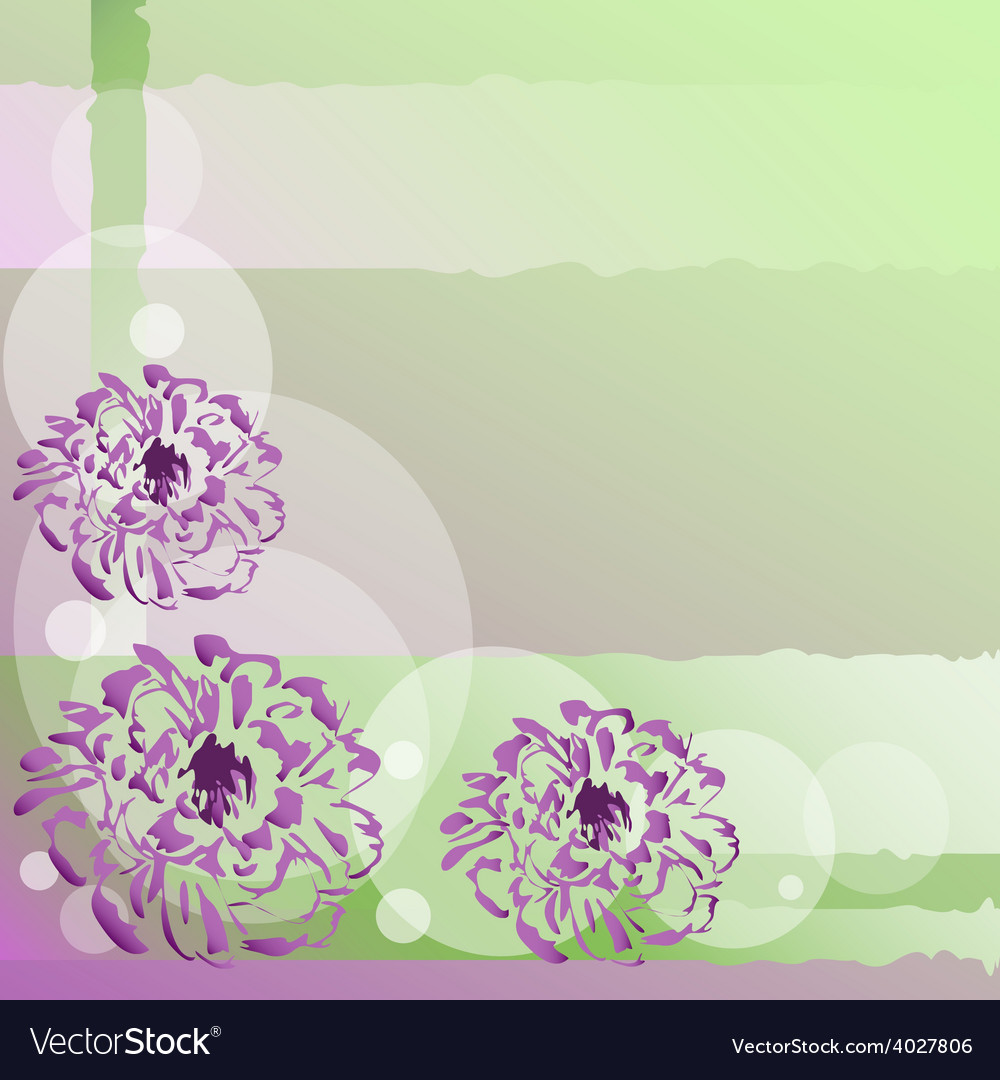 Nice background with flowers vector | Price: 1 Credit (USD $1)