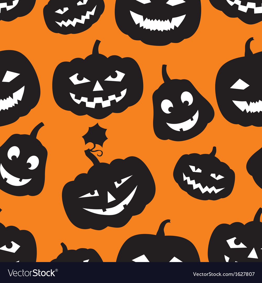 Hallowen pattern vector | Price: 1 Credit (USD $1)