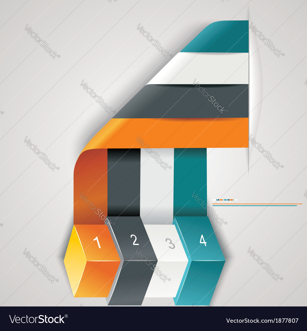 Modern options banner vector | Price: 1 Credit (USD $1)
