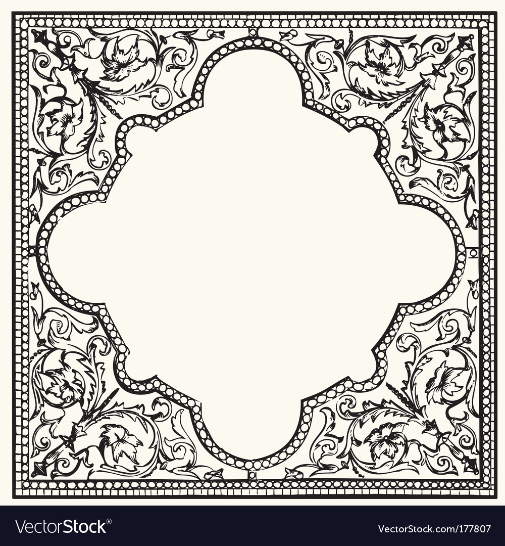 Tile ornament vector | Price: 1 Credit (USD $1)