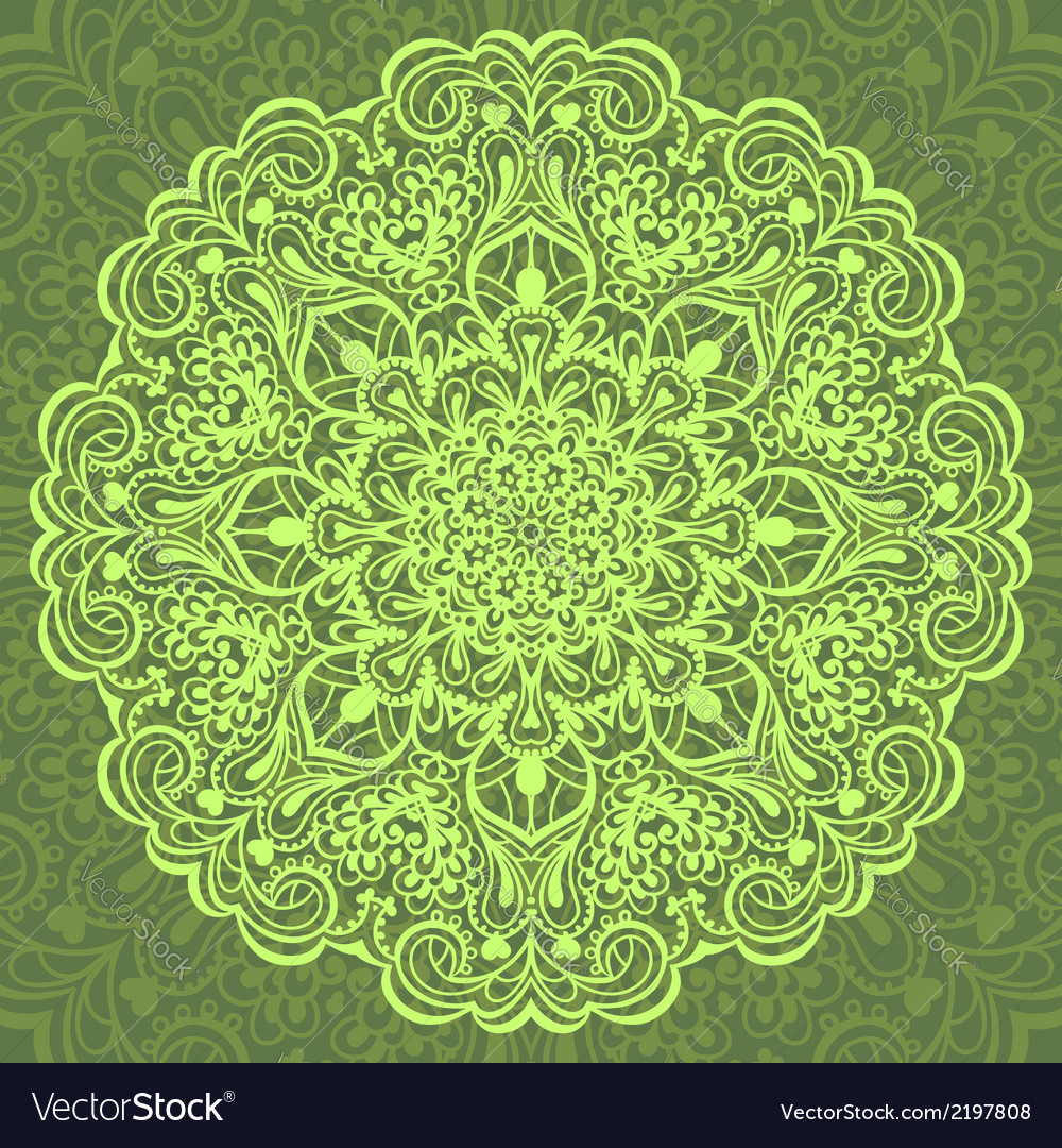 Flower mandala abstract element for design vector   Price: 1 Credit (USD $1)