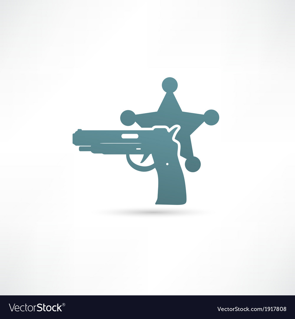 Isolated modern police icon vector | Price: 1 Credit (USD $1)
