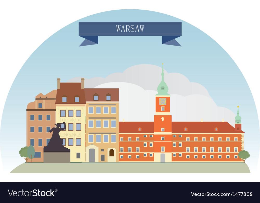 Warsaw vector | Price: 1 Credit (USD $1)