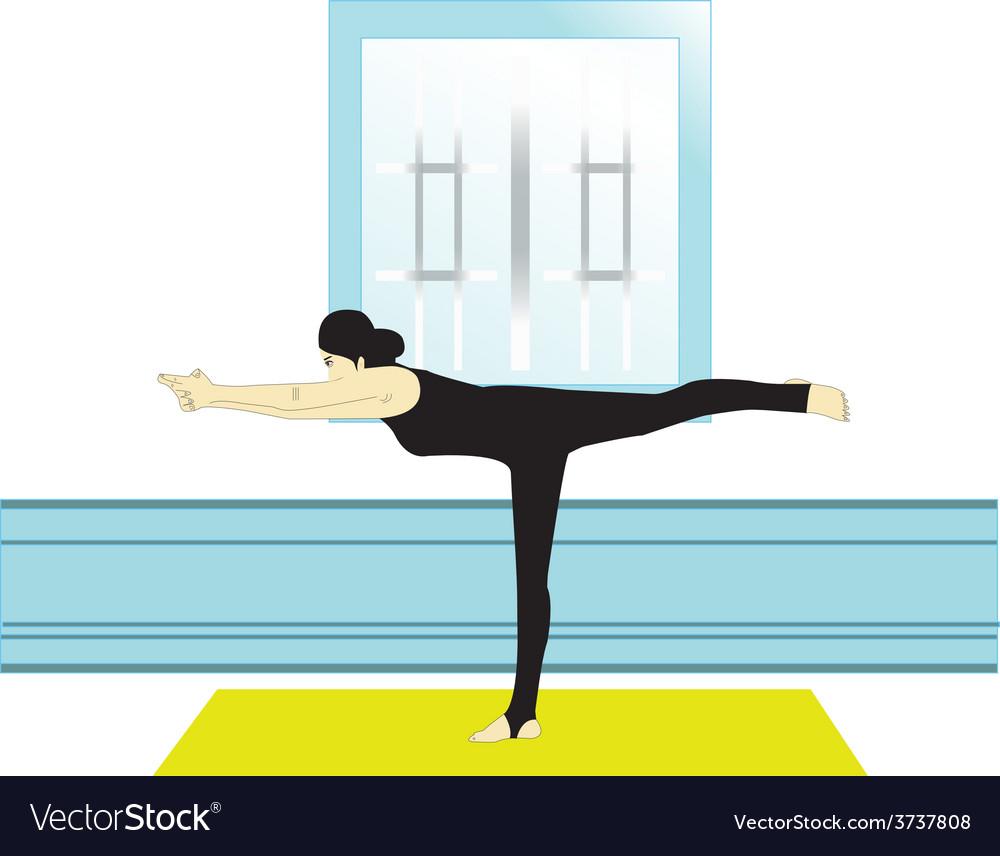 Yoga vector | Price: 1 Credit (USD $1)