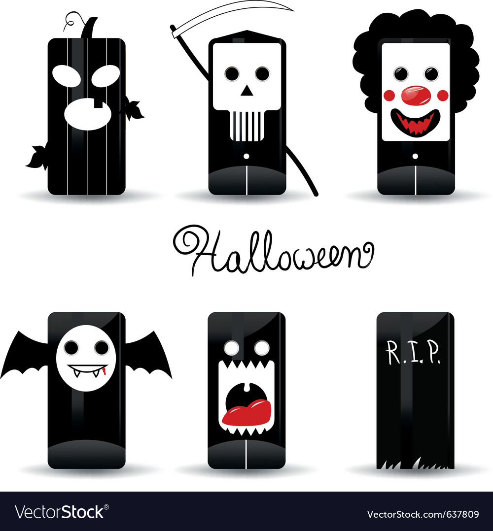 Halloween icons pack vector | Price: 1 Credit (USD $1)
