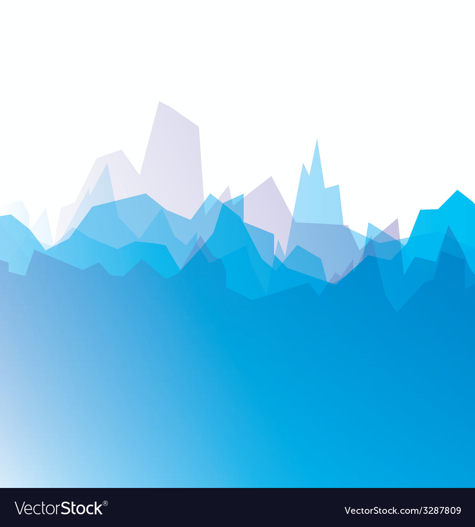 Mountain icon vector | Price: 1 Credit (USD $1)