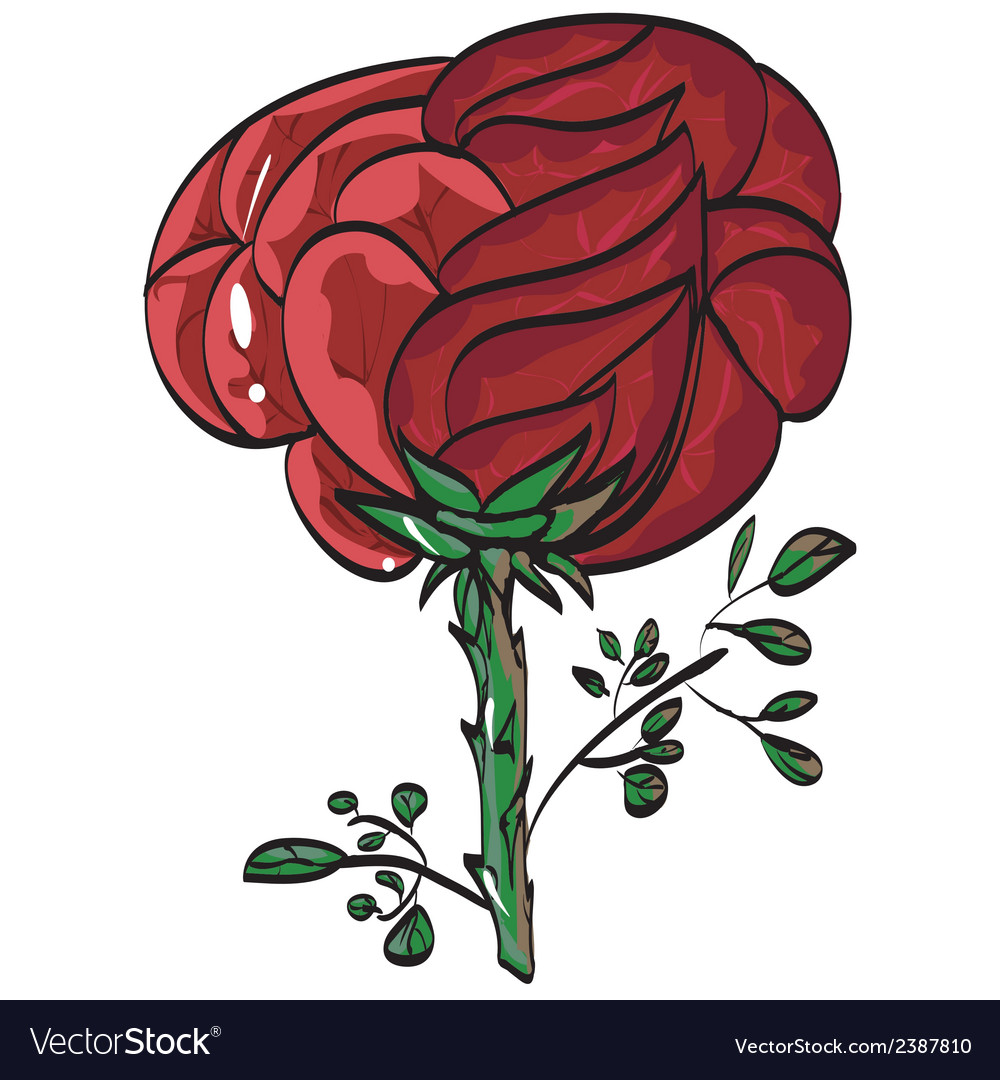 Greetings festive beauty mark rose vektor vector | Price: 1 Credit (USD $1)