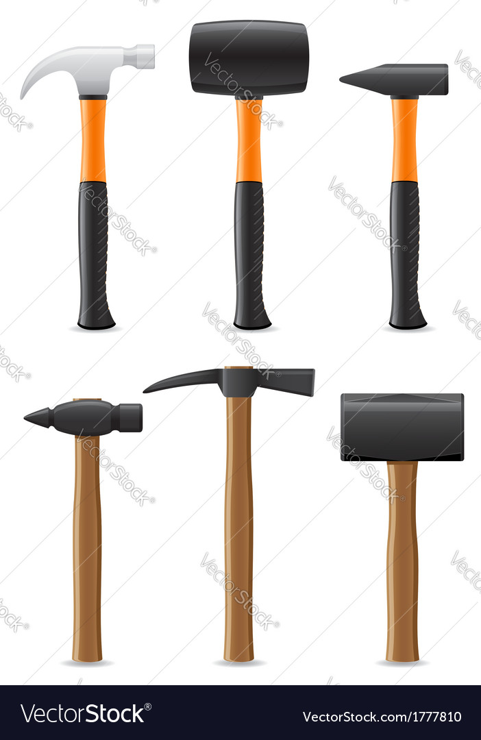 Tool hammer 09 vector | Price: 1 Credit (USD $1)