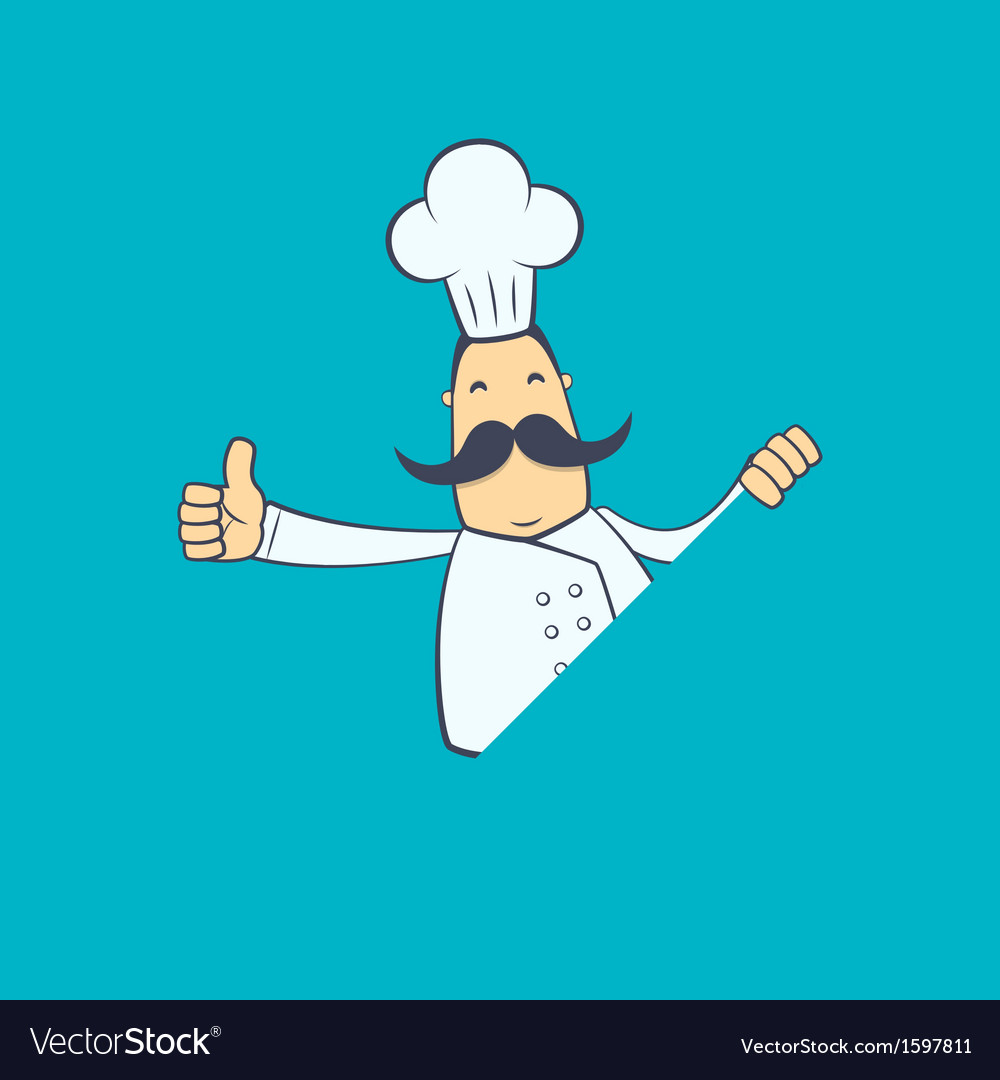 Chef in various poses vector   Price: 1 Credit (USD $1)