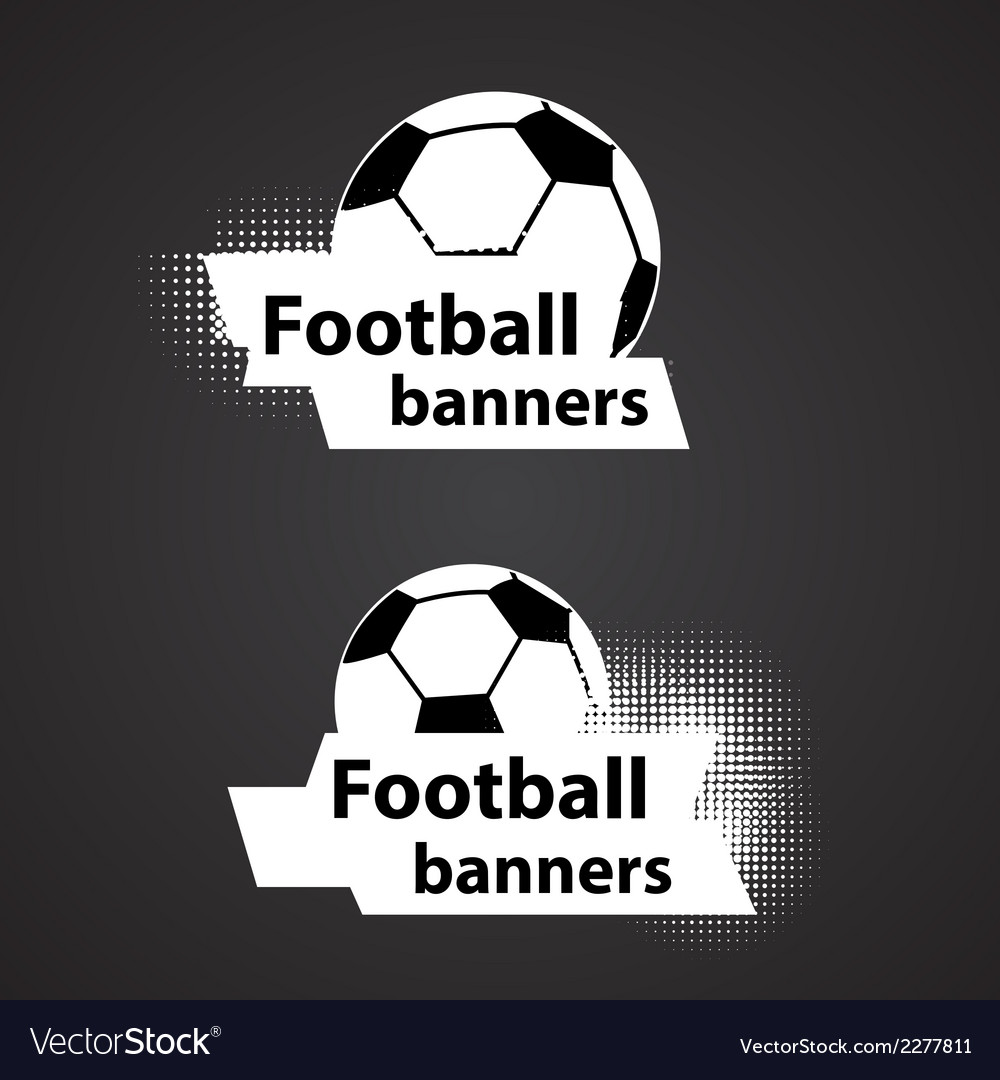 Soccer banners set vector | Price: 1 Credit (USD $1)