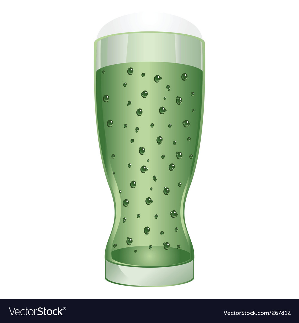 Glass of irish beer vector | Price: 1 Credit (USD $1)